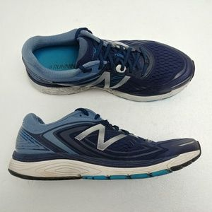 New Balance 860v8 Running Shoes Blue Silver 13 2E